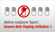 Anti-Doping klein