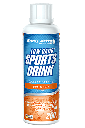 Body Attack Low Carb Sports Drink - 250 ml