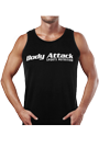 Body Attack Sports Nutrition Muscle-Shirt black