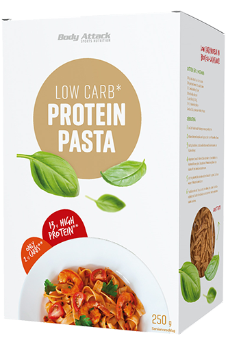 Body Attack Low Carb-Protein-Pasta - 250g