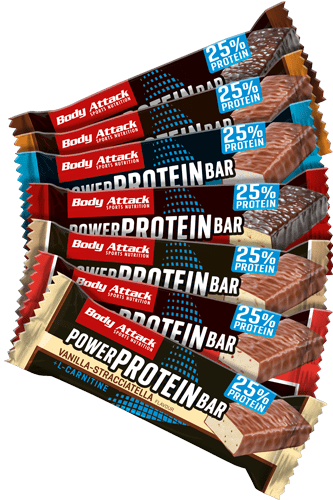 Body Attack Power Protein-Bar Variety Pack - 7er