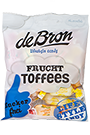 de Bron Low Sugar Frucht Toffee - 90g