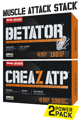 Body Attack Muscle Attack - Stack