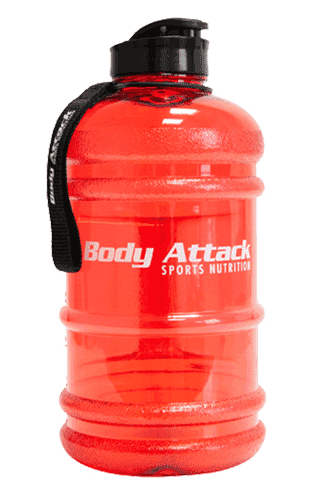 Body Attack Sports Nutrition Water Bottle XXL red - 2,2 Liter
