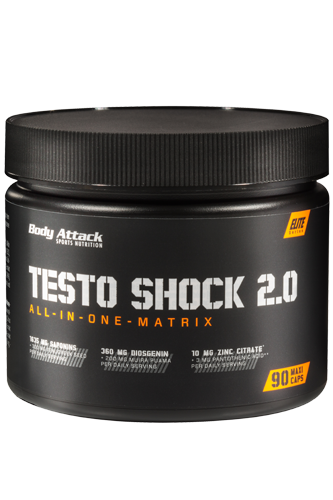 Body Attack Testo Shock 2.0 - 90 Maxi Caps