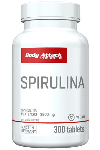 Body Attack Spirulina - 300 Tabs